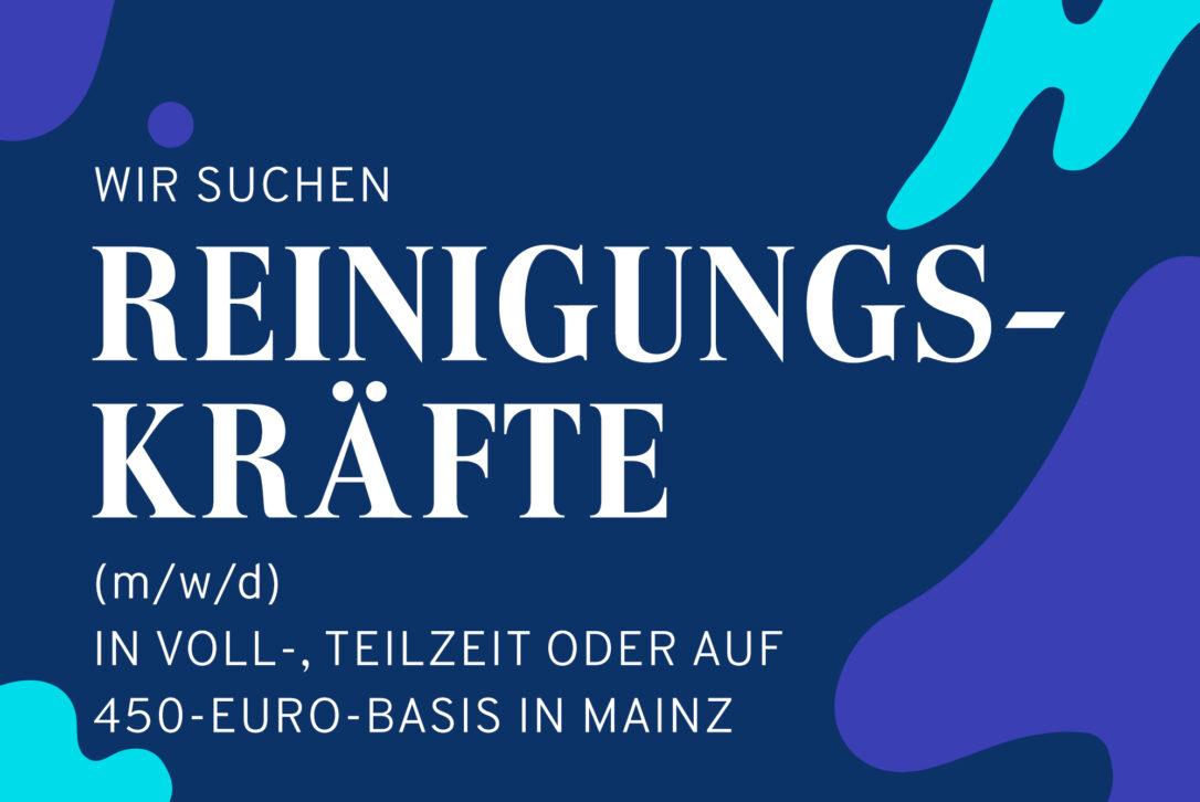 Myspa jobseite jobs reinigung 450 Mainz