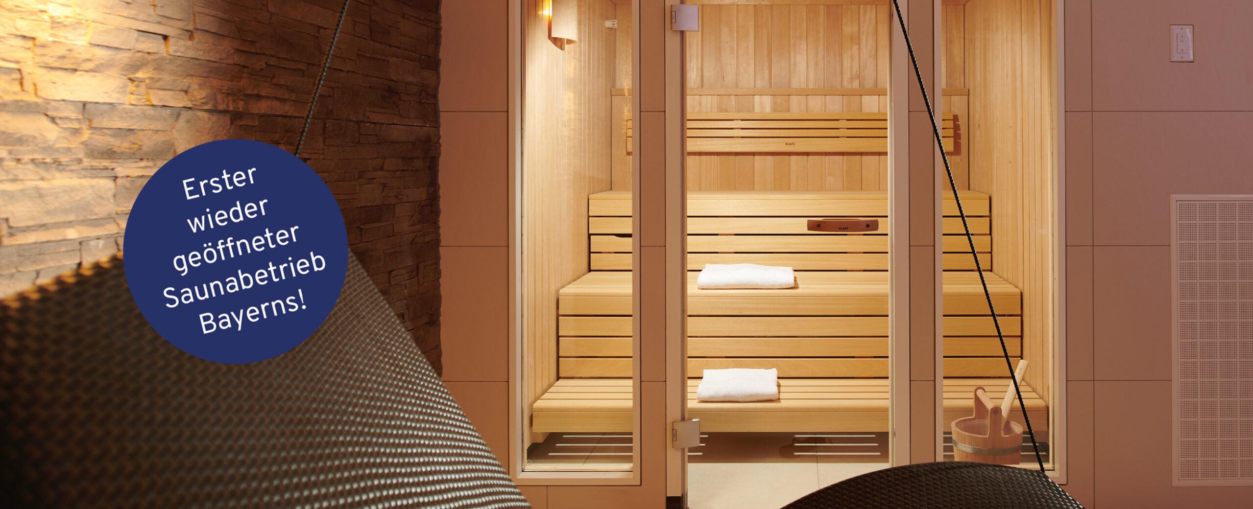 Erster saunabetrieb breit
