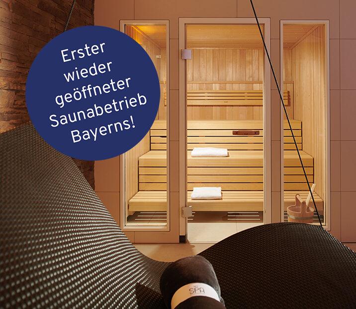 Erster saunabetrieb start