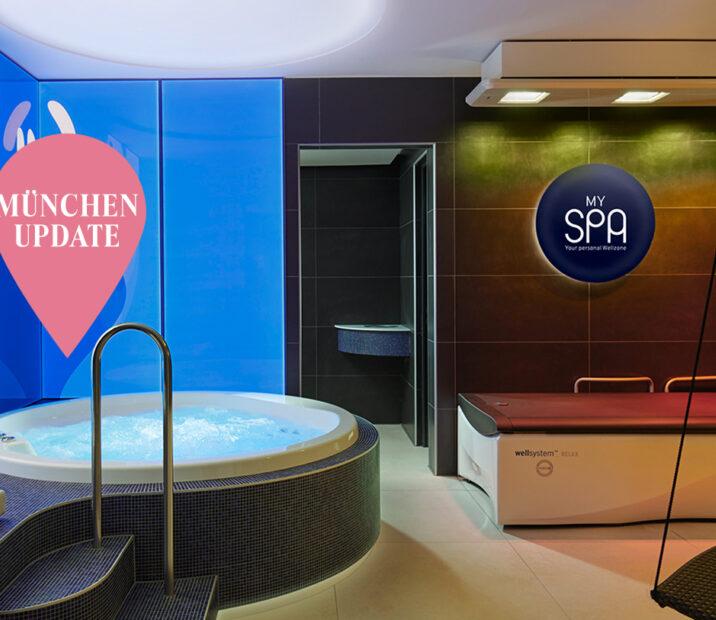 My Spa News Muenchen Update Header